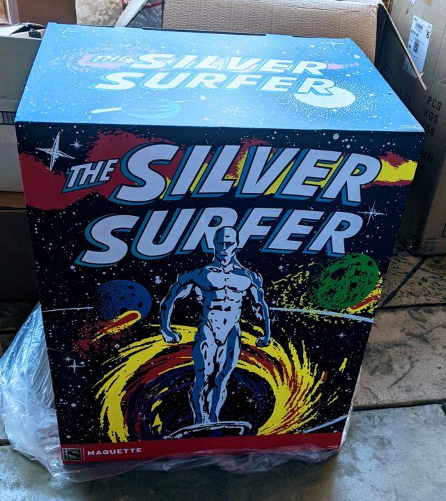 Sideshow Silver Surfer Maquette Box