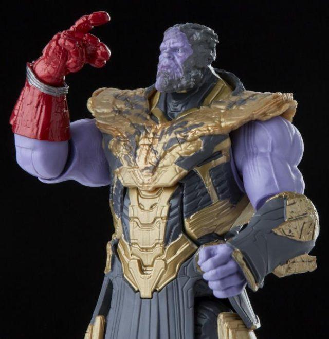 Snapping Thanos Hasbro Marvel Legends 2021 Movie Figure