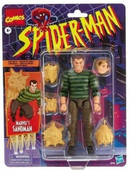 2021 Marvel Legends Sandman Spider-Man Vintage Series Packaged