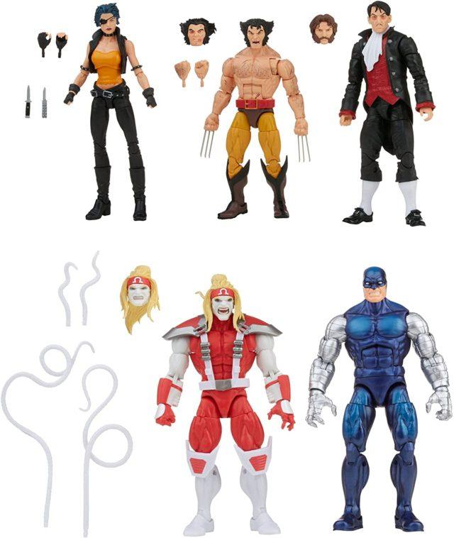 Amazon Wolverine Marvel Legends 5-Pack 6 Inch Figures