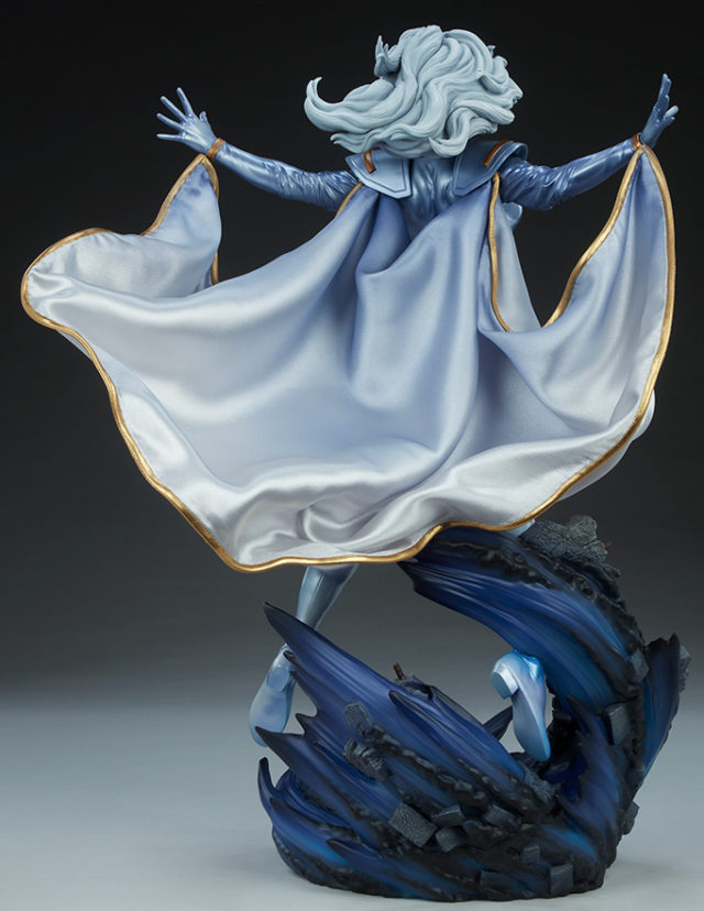 Back of Sideshow Collectibles Storm X-Men Statue