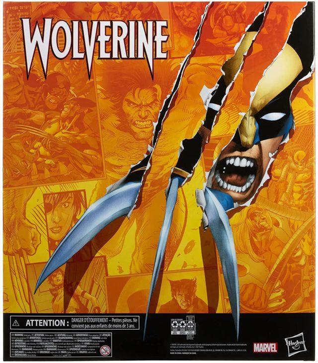 Box Back Wolverine Legends Amazon Exclusive Box Set