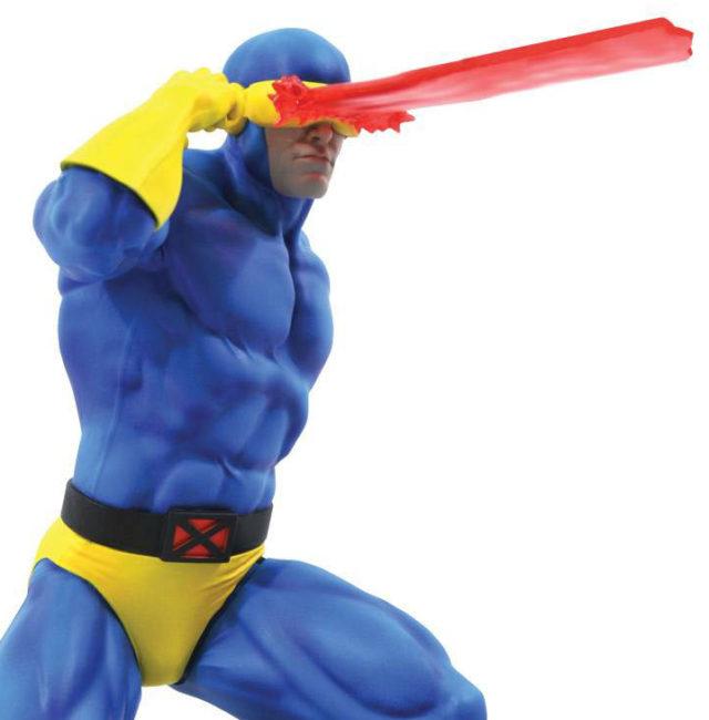 Close-Up of Diamond Select Toys Cyclops Resin Statue