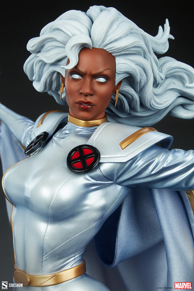Close-Up of Sideshow Collectibles X-Men Storm Statue 2021