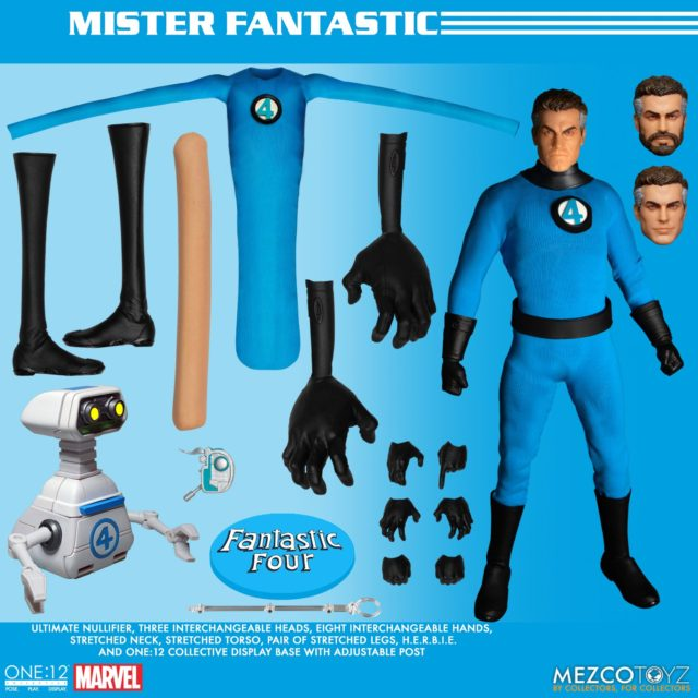 Fantastic Four ONE 12 Collective Mr Fantastic Figure and Accessories Reed Richards