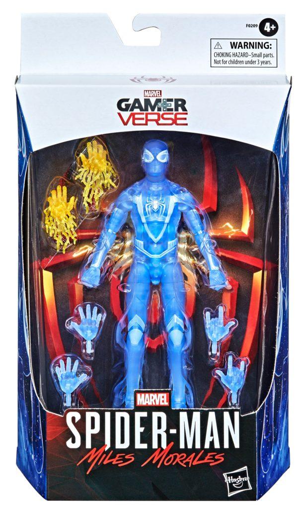 Gamestop Exclusive Marvel Legends Miles Morales Translucent Blue Stealth