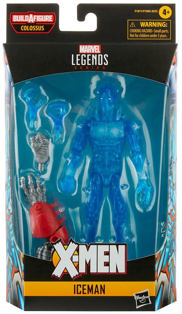 Marvel Legends AOA Iceman Figure Packaged Figure Final