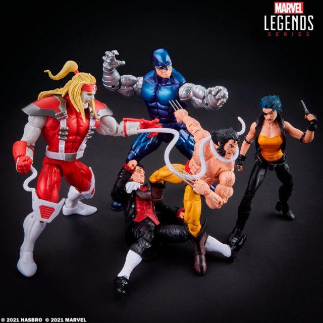 Marvel Legends Wolverine 5-Pack Hasbro Amazon Exclusive Set