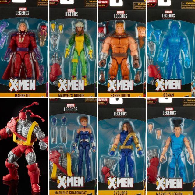 Marvel Legends X-Men Age of Apocalypse Wave 2 Colossus Series Figures