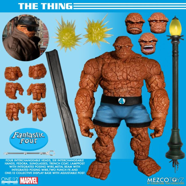 Mezco The Thing ONE:12 Collective Figure and Accessories