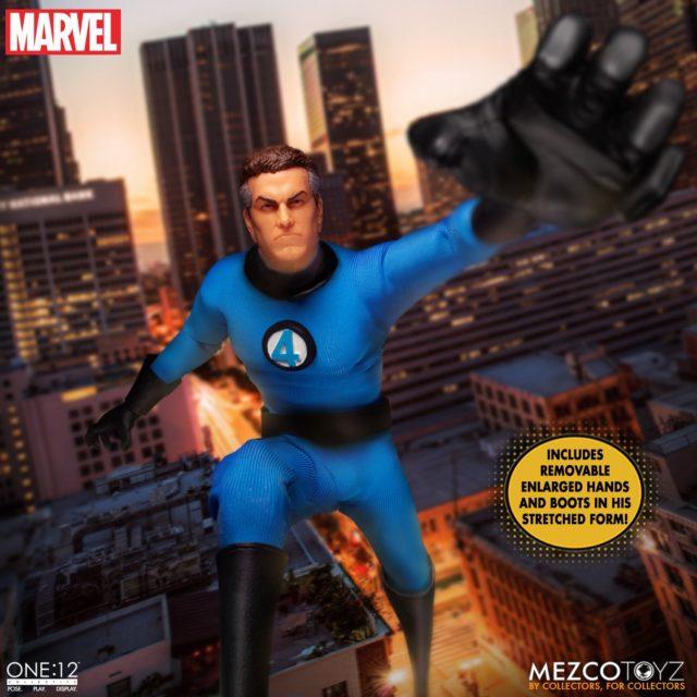 Mr Fantastic ONE:12 Collective Mezco Toys Fantastic 4 Figure