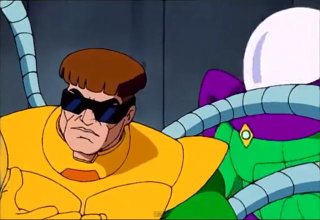 Spider-Man TAS Doc Ock Screenshot with Mysterio Doctor Octopus