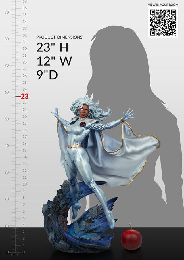 Storm Sideshow Premium Format Figure Size Scale Dimensions 2021