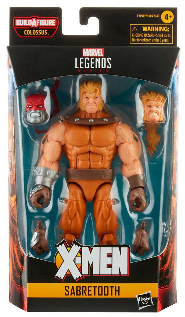 X-Men AOA Marvel Legends Sabretooth Figure Packaging