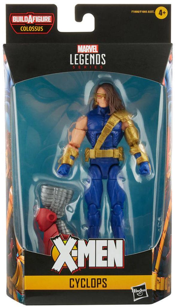 X-Men Age of Apocalypse Legends Wave 2 Cyclops Figure Box Packaging