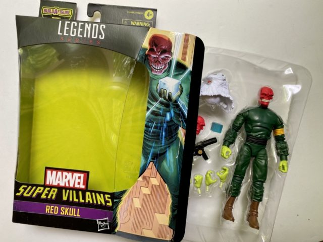 Unboxing Red Skull Marvel Legends 2021 Figure