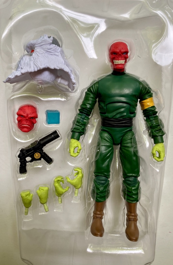 Red Skull Marvel Legends Super Villains Wave Figure and Accessories