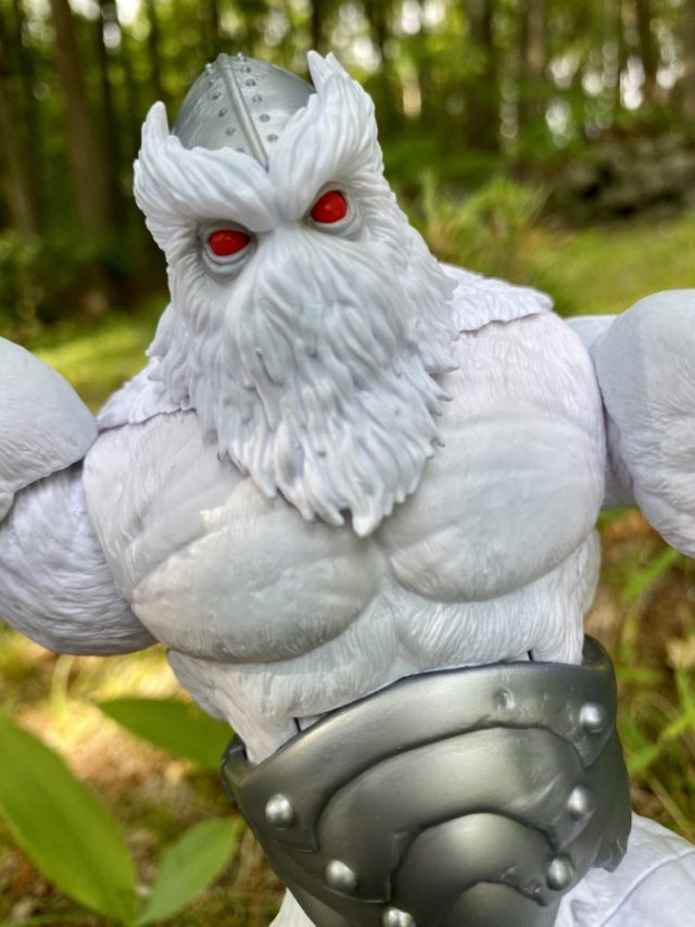 Close-Up of Marvel Legends Xemnu Hasbro 2021 Action Figure