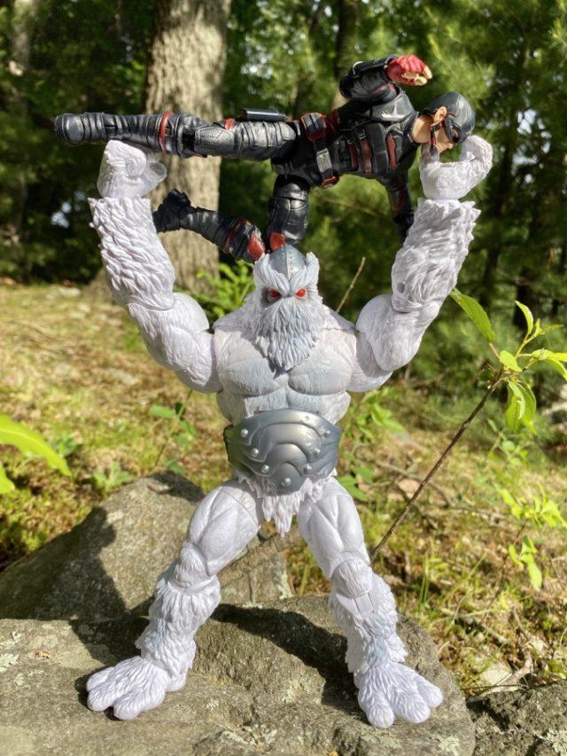 Hasbro Xemnu Figure Marvel Legends Super Villains Series Throws USAgent