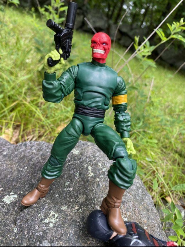 Review Marvel Legends Red Skull Super Villains Xemnu Series Figure