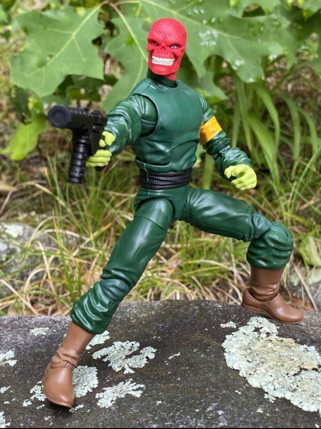Marvel Legends Super Villains Red Skull Hasbro Figure Review Xemnu BAF Series