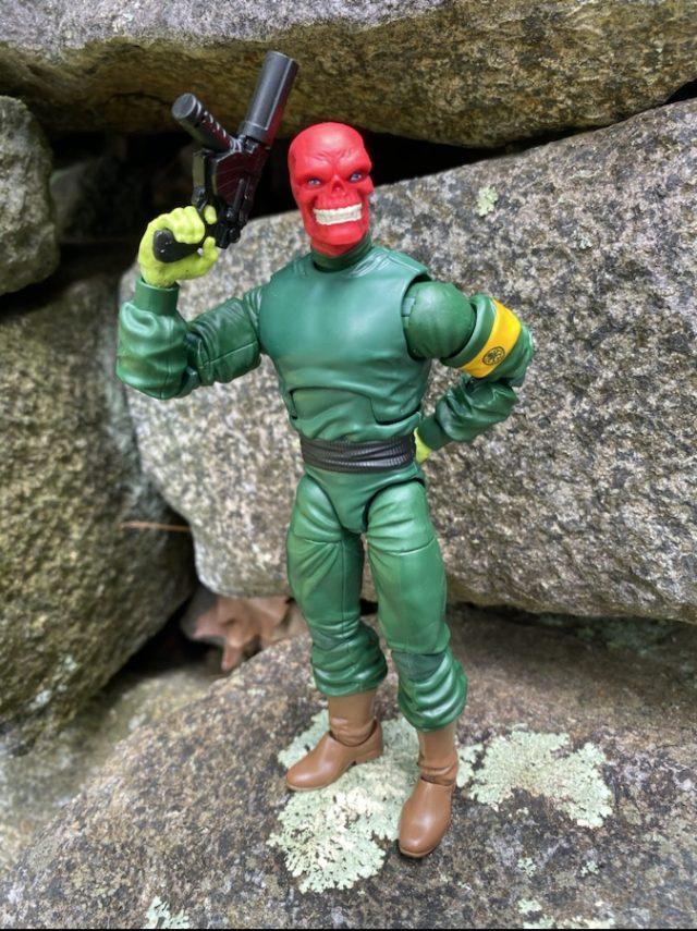 Marvel Legends Super Villains Red Skull Six Inch Figure Review