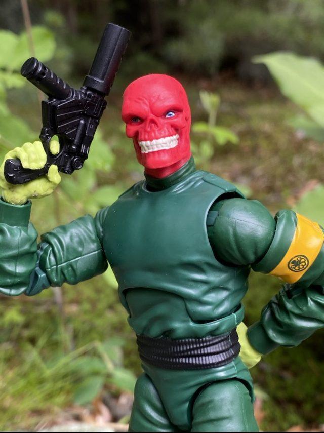 Xemnu Series Marvel Legends Villains Classic Red Skull Figure Grinning Head