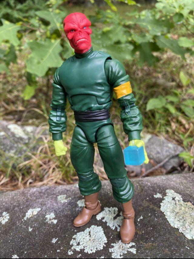 Hasbro Red Skull Classic Super Villains Legends Figure Holding Cosmic Cube