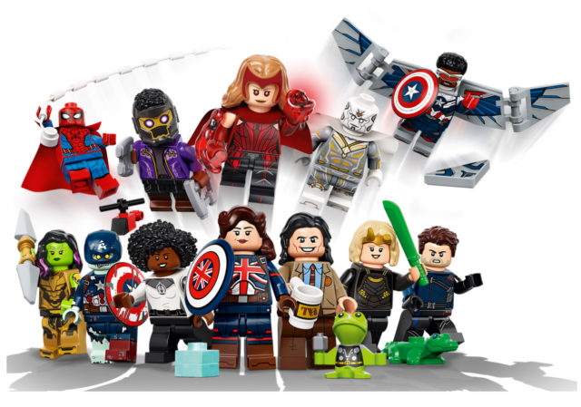 2021 LEGO Minifigures Series Marvel Studios Figures Set 71031