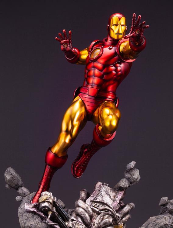 Avengers Iron Man Kotobukiya Fine Art Statue