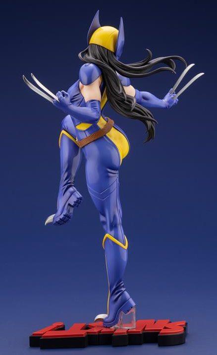 Back Side View of Koto Bishoujo Wolverine Figure Laura X-23