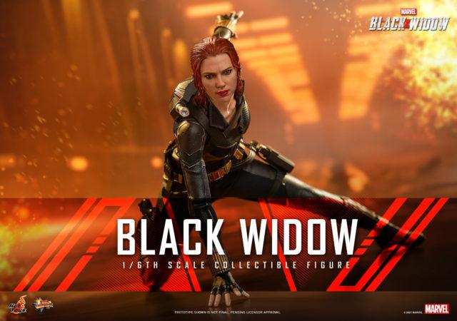 Black Widow Movie Hot Toys Black Widow Black Costume MMS Figure