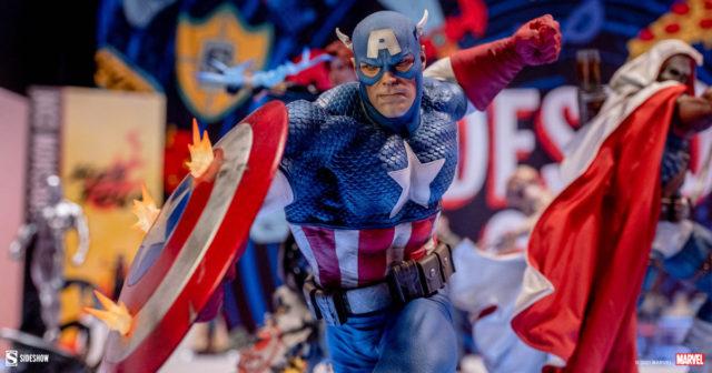 Captain America Premium Format PF Statue 2021 Sideshow