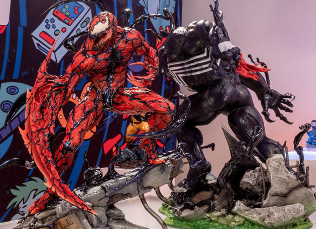 Carnage and Venom Sideshow Premium Format Statues Quarter Scale 2021
