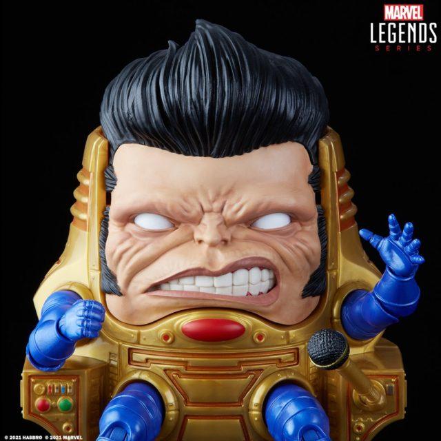Close-Up of Marvel Legends MODOK Elvis Rock N Roll Variant Convention Exclusive
