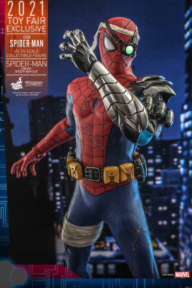 Cyborg Spider-Man Hot Toys Sixth Scale Figure Exclusive