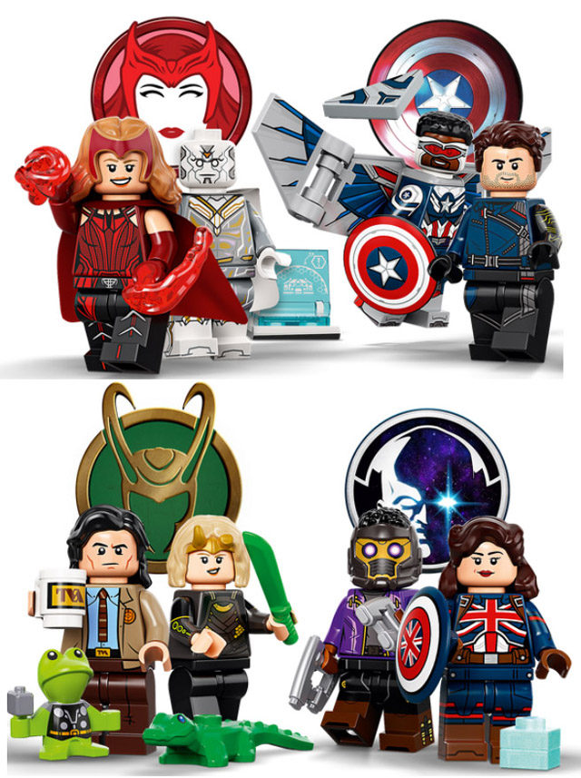 Disney+ LEGO Minifigures Series 71031