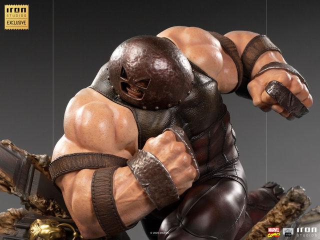 Exclusive Juggernaut Iron Studios X-Men Diorama Statue