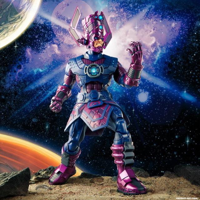 Galactus Hasbro Marvel Legends HasLab Figure Articulation