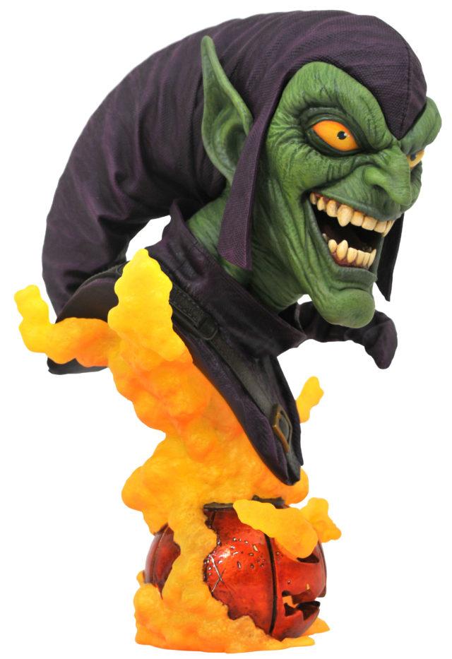 Green Goblin Legends in 3D Bust