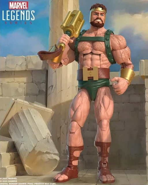 Hasbro Fan First Friday Hercules Figure Revealed