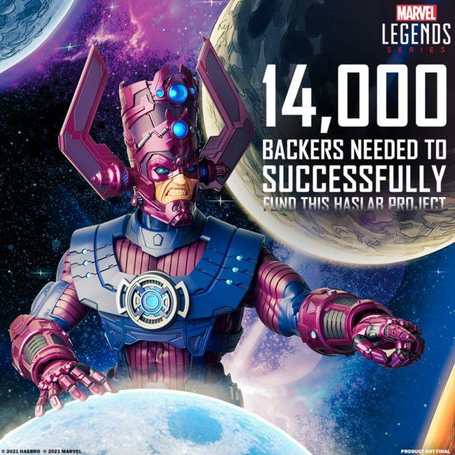 Hasbro Galactus Kickstarter Campaign Haslab 14000 Backers Needed