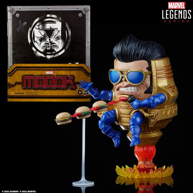 Hasbro PulseCon 2021 Exclusive Marvel Legends Elvis MODOK World Domination Tour Set