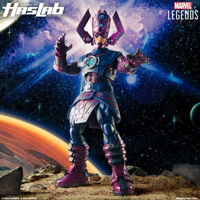 Haslab Marvel Legends Galactus Figure Revealed 2021