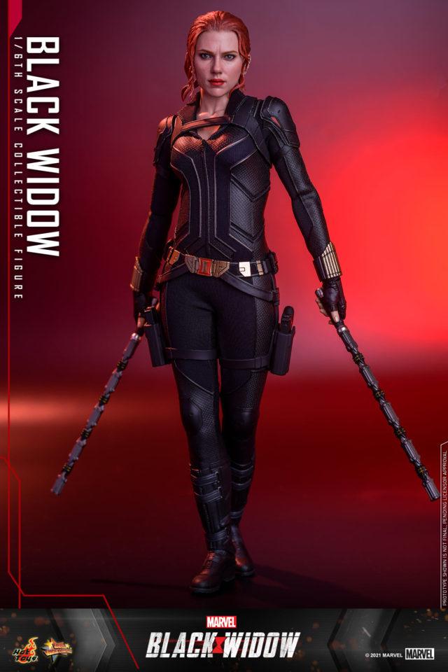 Hot Toys 2021 Black Costume Black Widow Movie Figure