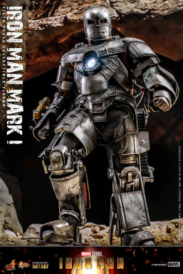 Hot Toys Mark 1 Iron Man Diecast Figure 2021
