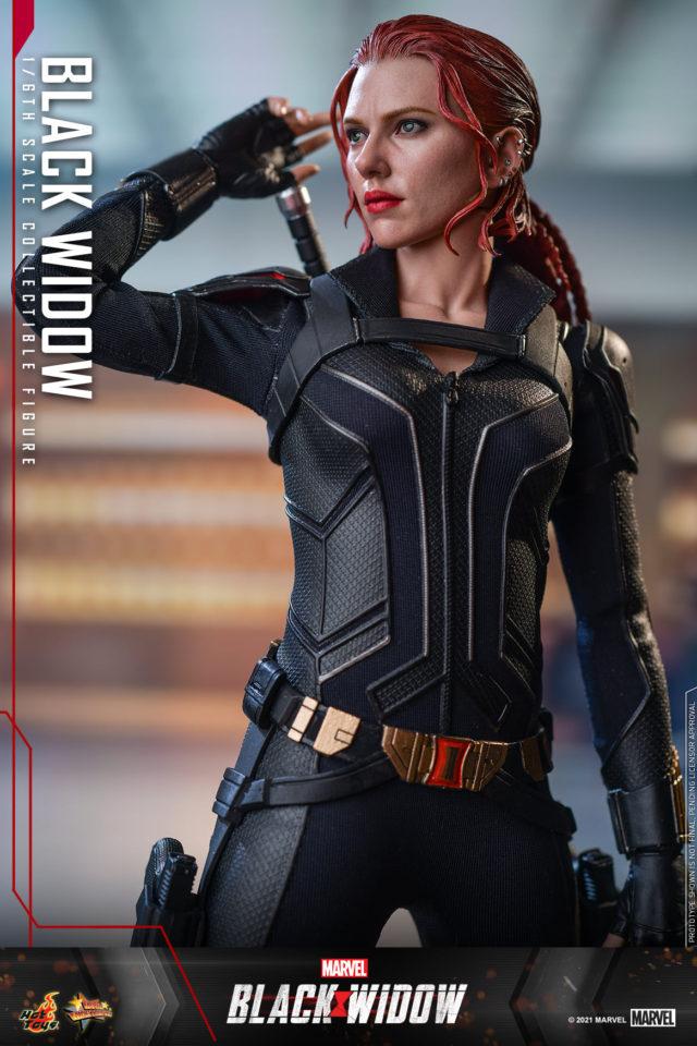 Hot Toys Scarlett Johansson Black Widow Sixth Scale Figure from Black Widow Movie