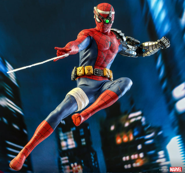 Hot Toys Toy Fair Exclusive Cyborg Spider-Man Figure