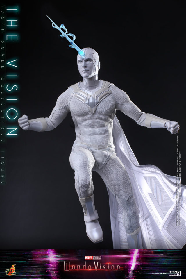Hot Toys Wanda Vision White Figure Figure Forehead Energy Beam Effects Piece
