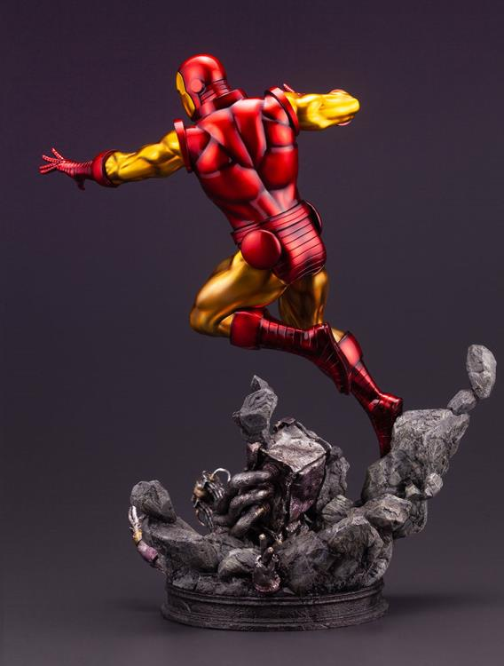 Iron Man Kotobukiya Fine Art Resin Statue Avengers Series